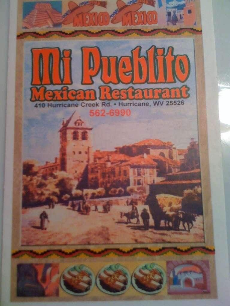 Hurricane (WV) United States  City new picture : ... , Menu for MI Pueblito, Hurricane, Charleston Zomato United States